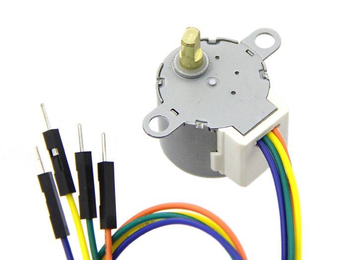 Small size and high torque stepper motor 24byj48 for Small motors for robots