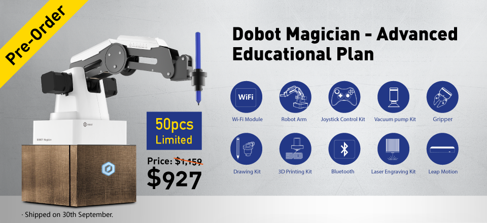 Dobot Magician - Advanced Educational Plan