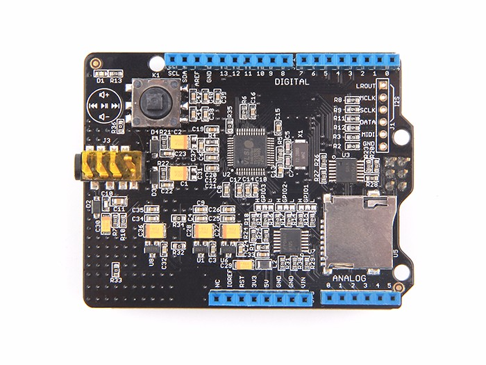 Music shield v for arduino seeed studio