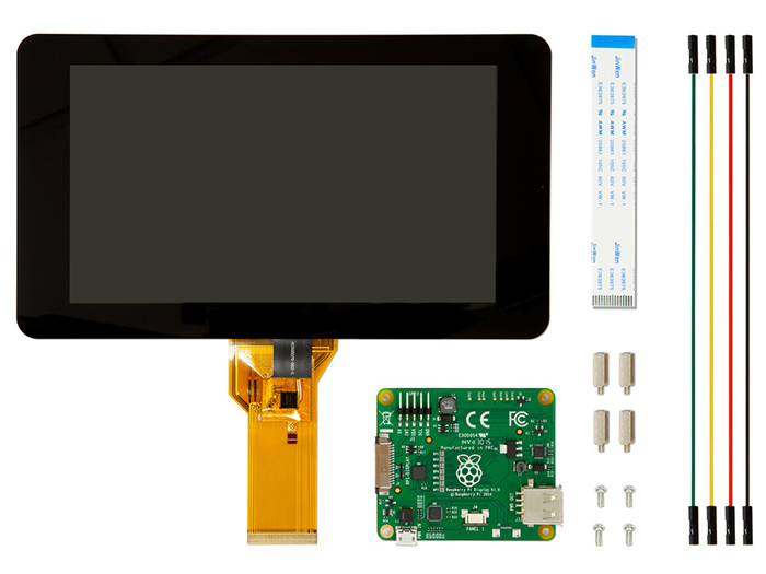 Raspberry Pi 7 inch Touchscreen Display