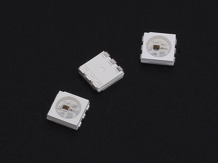 WS2812S RGB LED with Integrated Driver Chip (10 PCs pack)