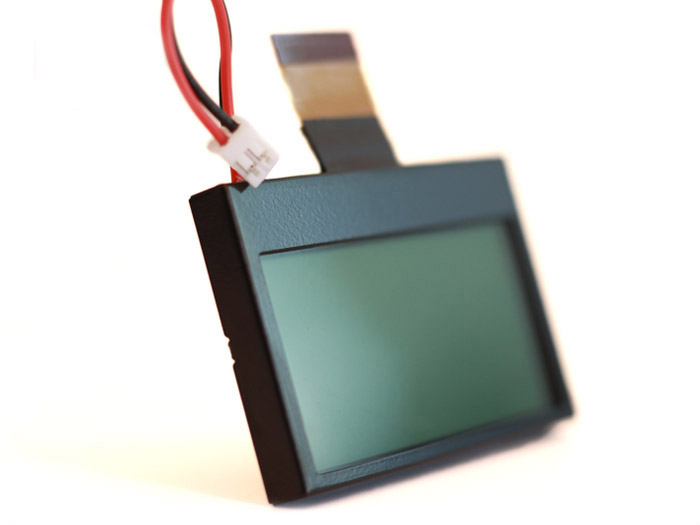 RF Explorer LCD screen