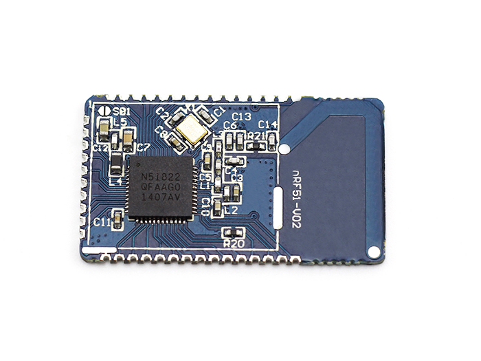 low power consumption BLE4.0 module with 2.4GHz PCB antenna16*28mm