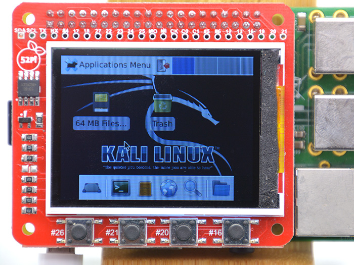 Raspberry Pi 2.2 inch TFT Display Module&WOT Touch