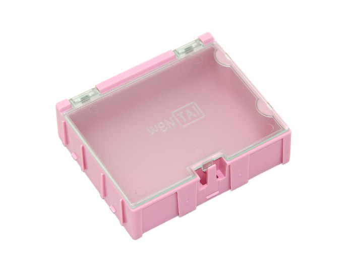 Large Size Components Storage Box - 2 PCs per lot - Pink