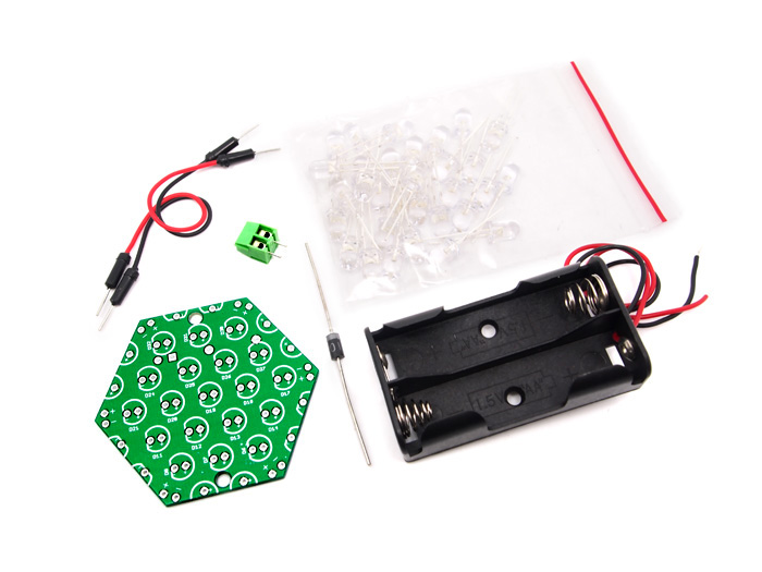 2V Hexagon LED Panel Kit