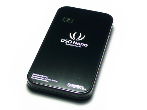 Replacement Back plate for DSO nano