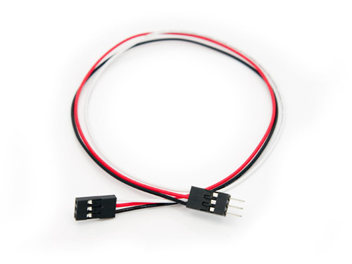 Electronic brick - 3 Wire Cable Female to Male (5 PCs pack)