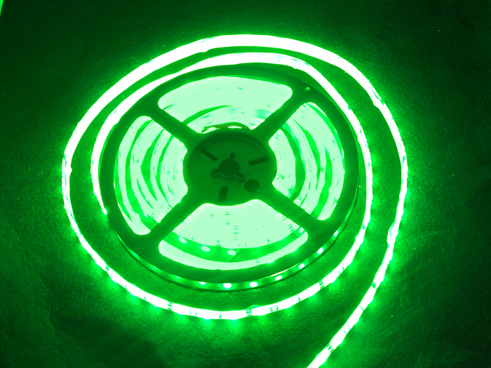 Flexible Waterproof LED Strip - Green
