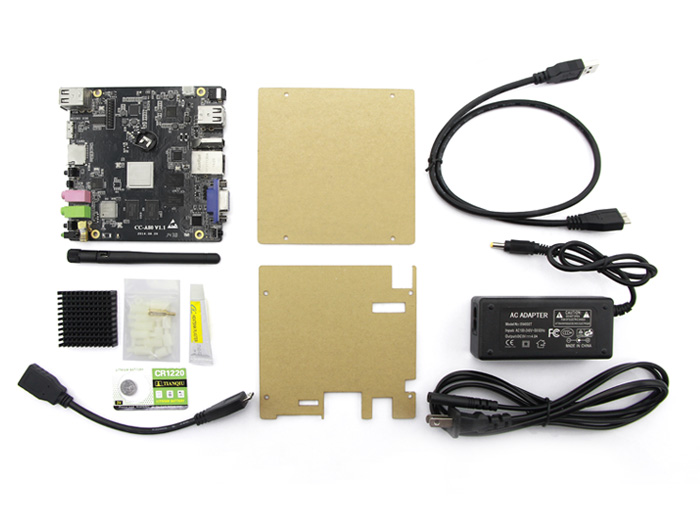 Cubie Single-board Computer-CubieBoard4&Octa core A80