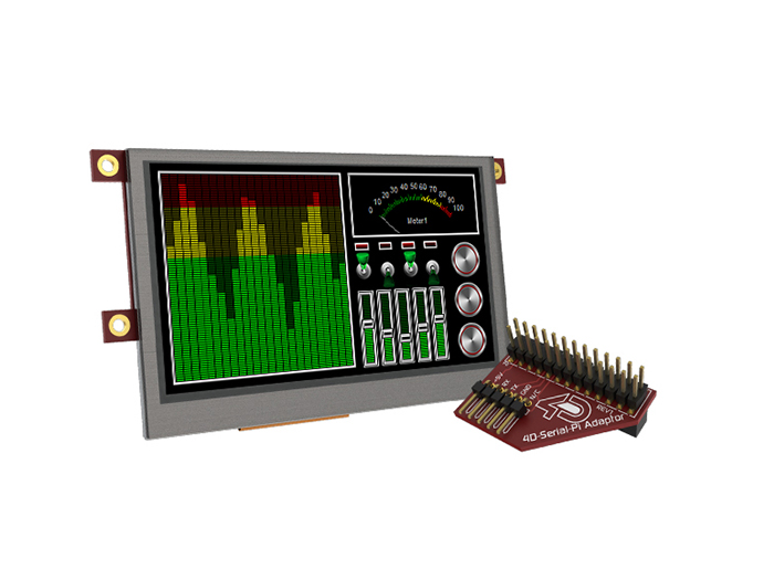4.3 Inch Raspberry Pi Display Pack