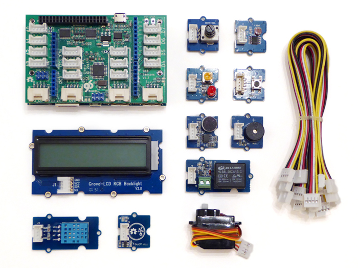 Grove Starter Kit for 96Boards
