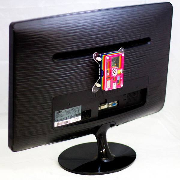 Pibow VESA mount for Raspberry Pi Model B+