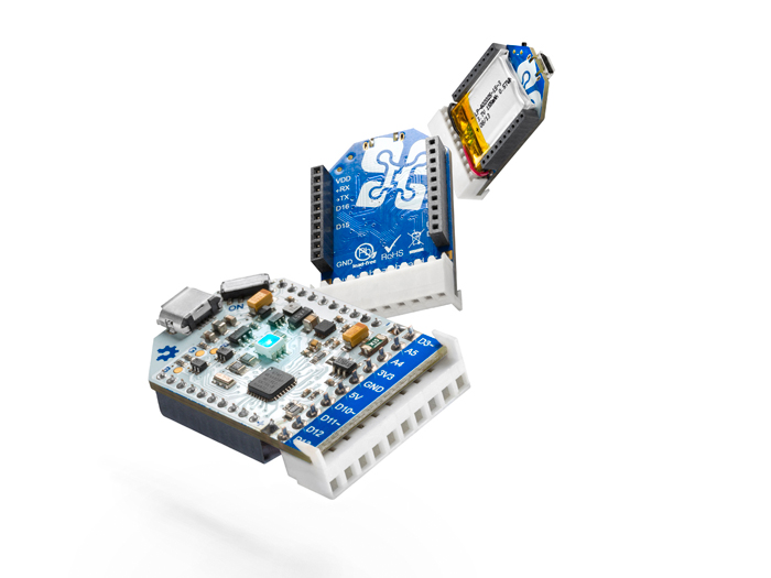 The AirBoard - prototyping platform For IoT