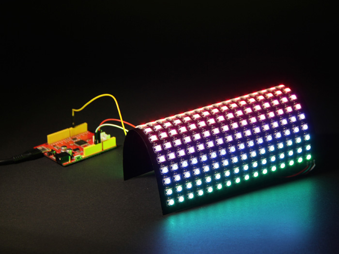 16x16 RGB LED Matrix w& WS2812B - DC 5V