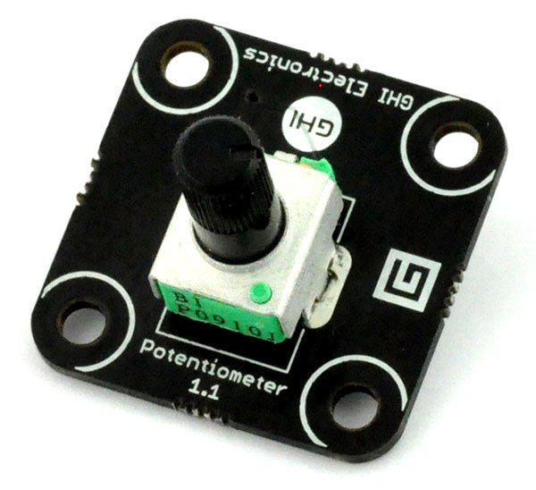 Potentiometer Module - .NET Gadgeteer Compatible