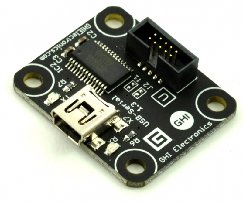 Serial-USB Module - .NET Gadgeteer Compatible