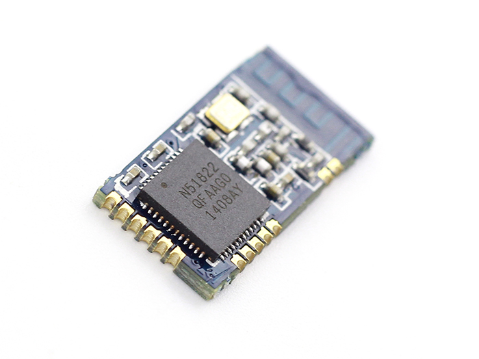 Low power consumption BLE4.0 module with 2.4GHz PCB antenna 18.5*9.1mm
