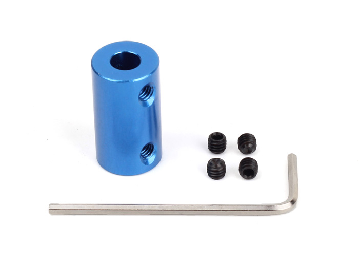 Aluminum Shaft Coupler(6-6mm)