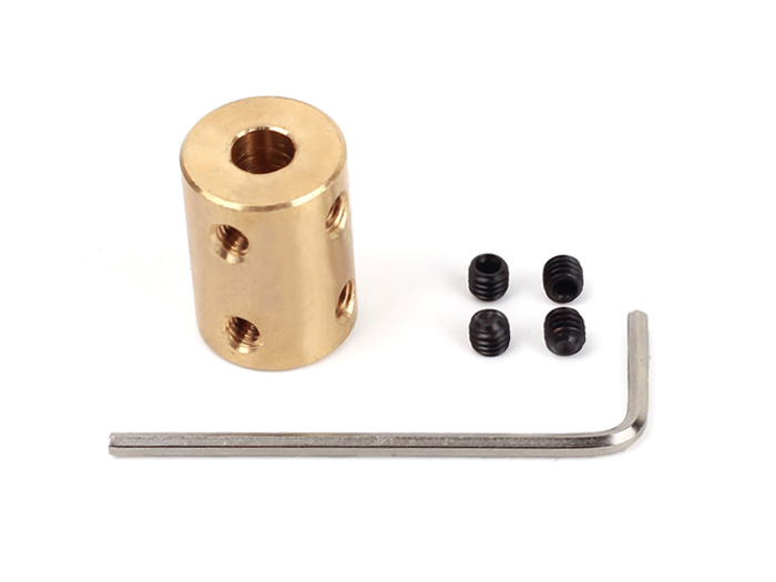 Copper Shaft Coupler(6-8mm)