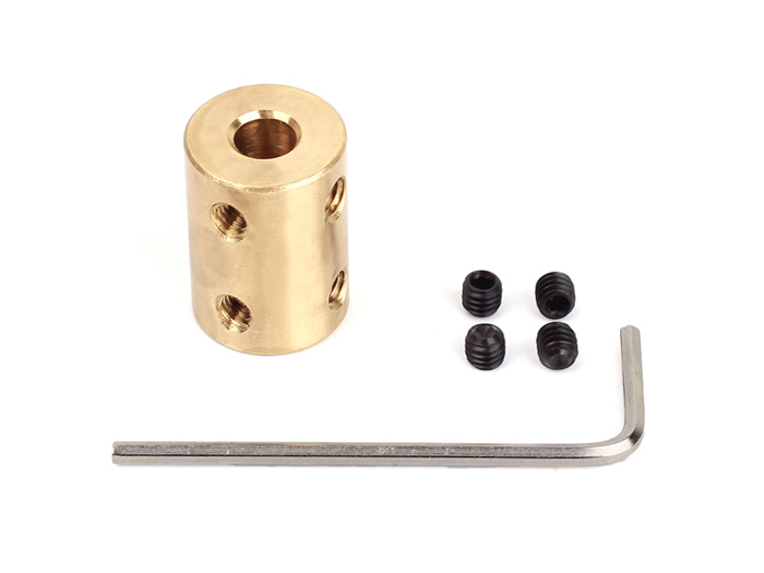Copper Shaft Coupler(6-10mm)