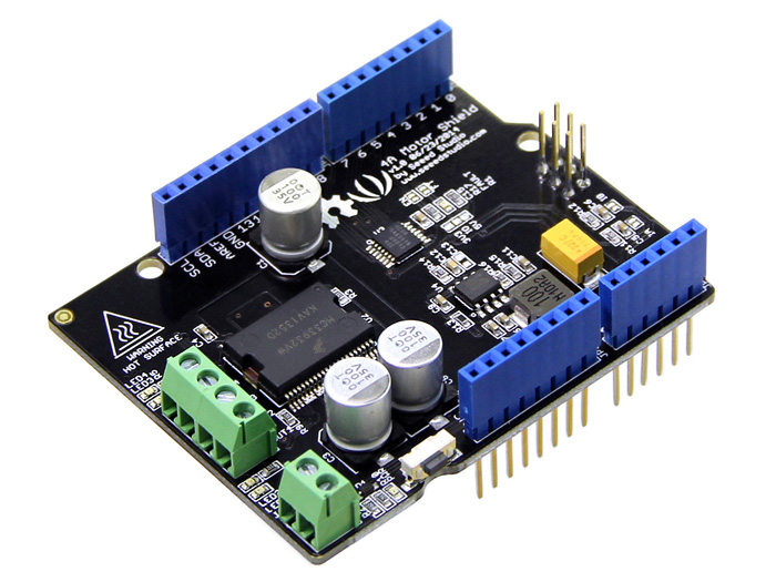 4a motor shield shield for arduino seeed studio