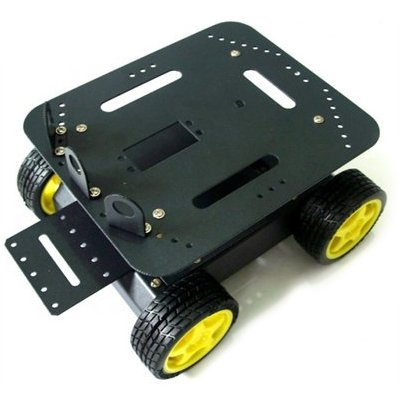 4WD Arduino compatible robot platform (global free shipping)