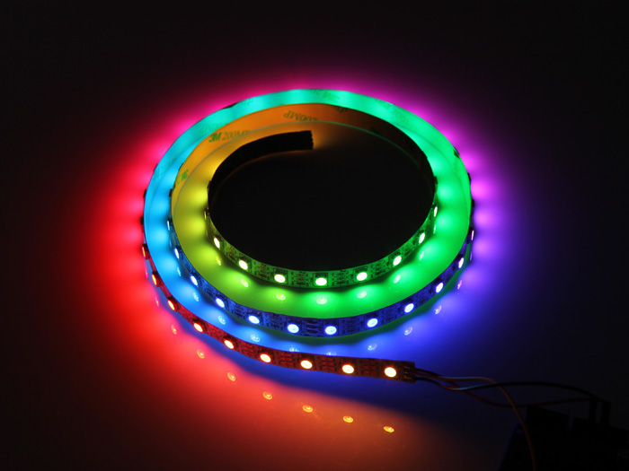Digital RGB LED Flexi-Strip 60 LED - 1 Meter