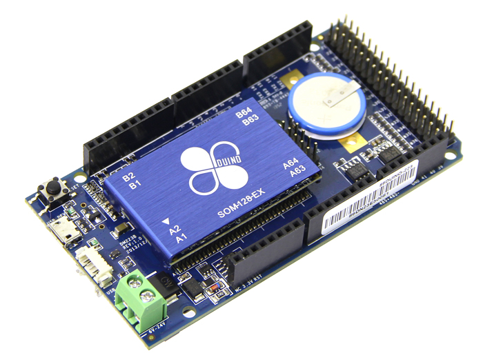 86Duino One - an embedded platform based on Vortex86EX SoC
