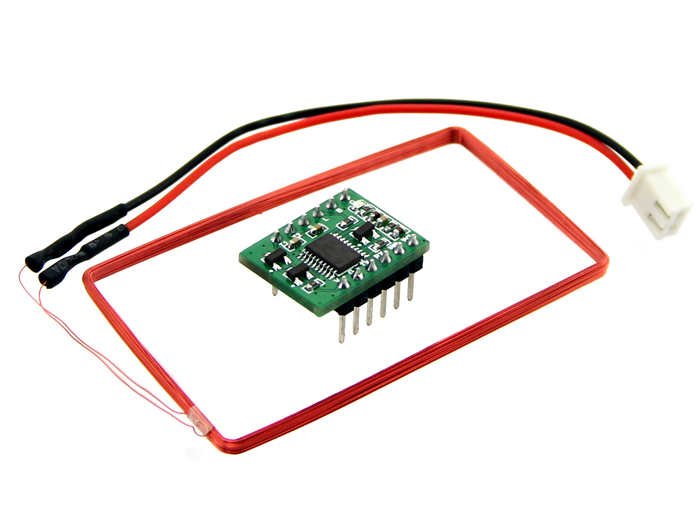 Mini 125Khz RFID Module - External LED&Buzzer Port (70mm Reading Distance)
