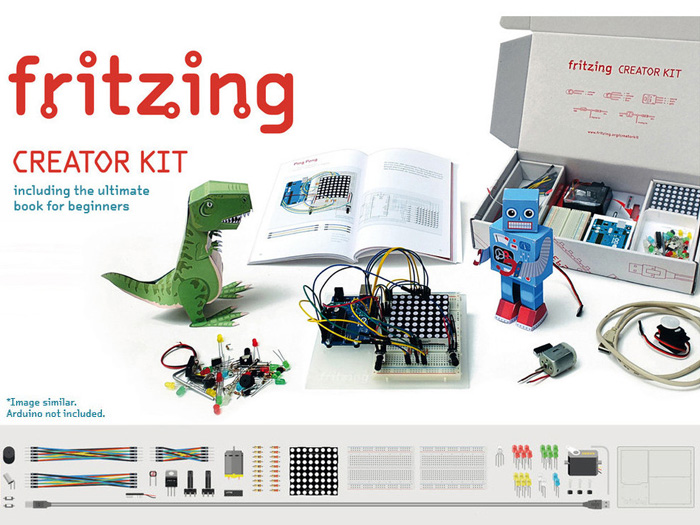 Fritzing Creator Kit without Arduino UNO English Edition