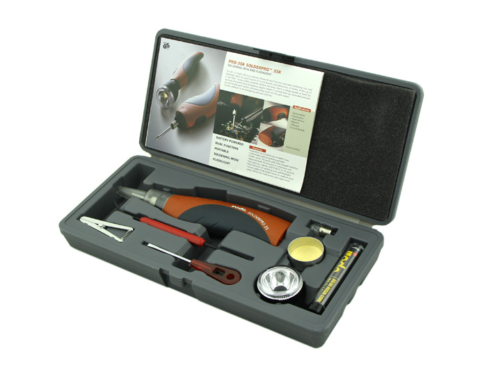 Cordless Battery - Battery powered Soldering Iron Kit - HandTools ...