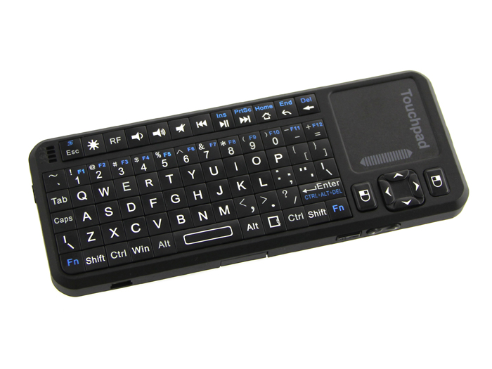 Mini Wireless Keyboard and Touchpad Mouse - Rechargeable - User Interface - Seeed Studio