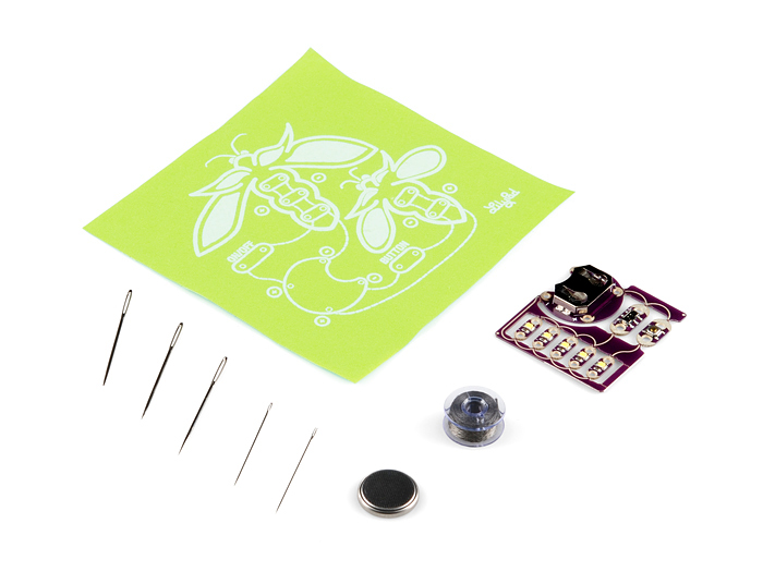 ProtoSnap - LilyPad E-Sewing Kit