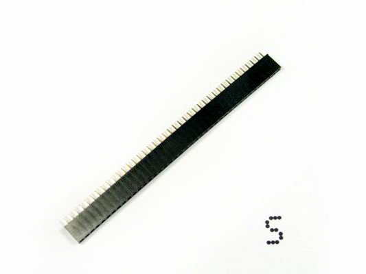 2.54mm pitch pin headers - Female 40pin in 1 line