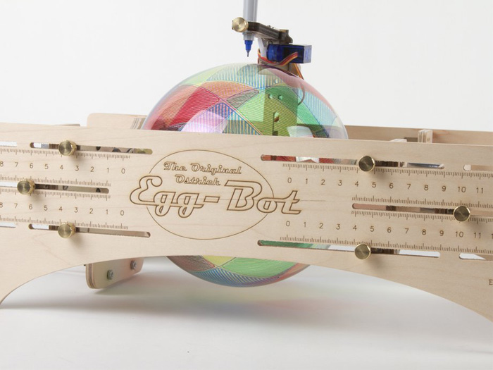 The Ostrich Egg-Bot Kit