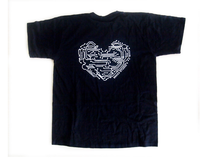 Seeed T-shirt - Geek Heart - XL