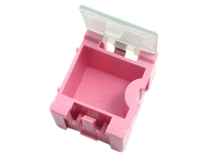 Small Size Components Storage Box - 5 PCs per lot - red