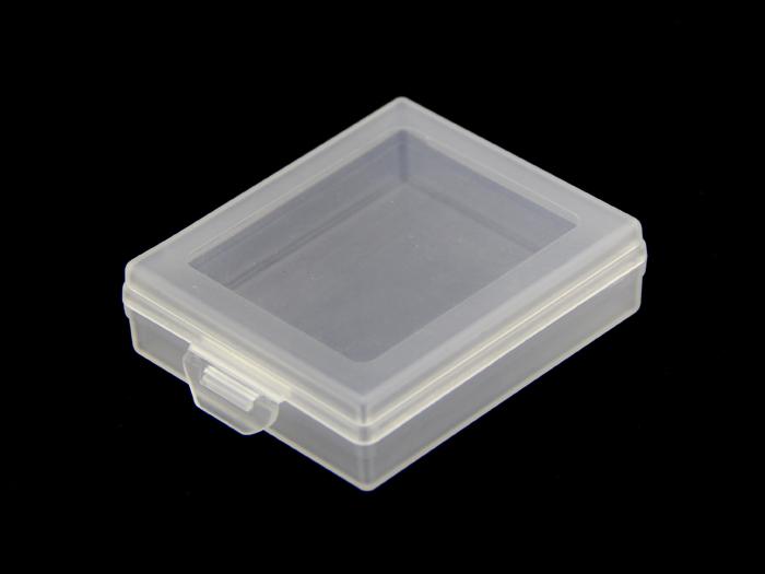 plastic storage box transparent small