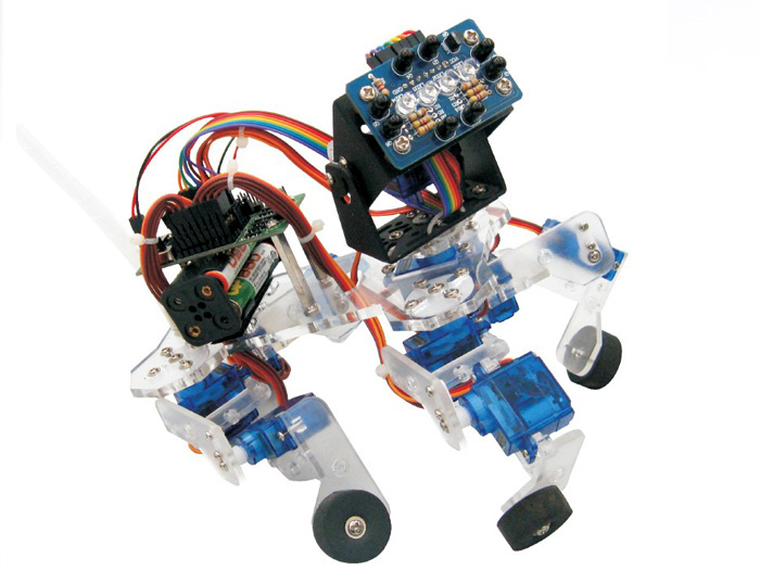 Playful Puppy Quadruped Robot Kit