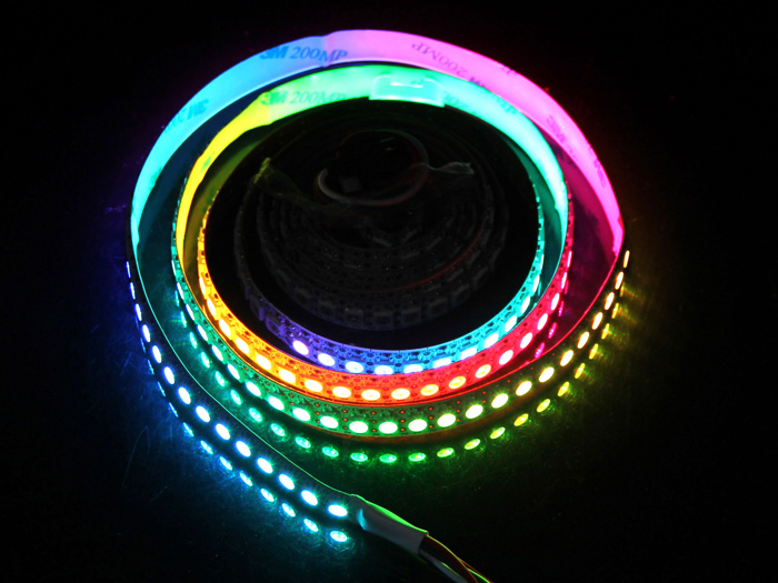 ws2812b digital rgb led flexi strip 144 led 1 meter led for interaction seeed studio. Black Bedroom Furniture Sets. Home Design Ideas