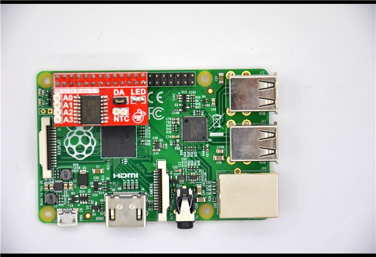 Raspberry Pi B&A+&B+&2 AD&DA Expansion Board