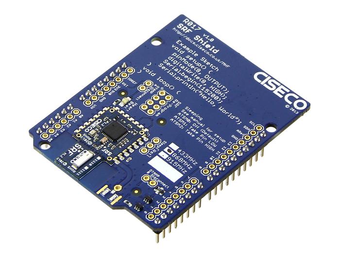 Srf shield wireless transciever for all arduino type