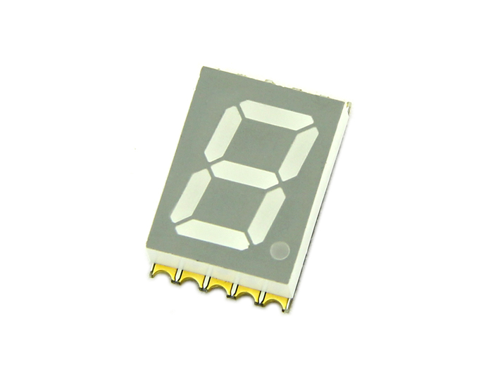 Single Digit 7 Segment SMD Display