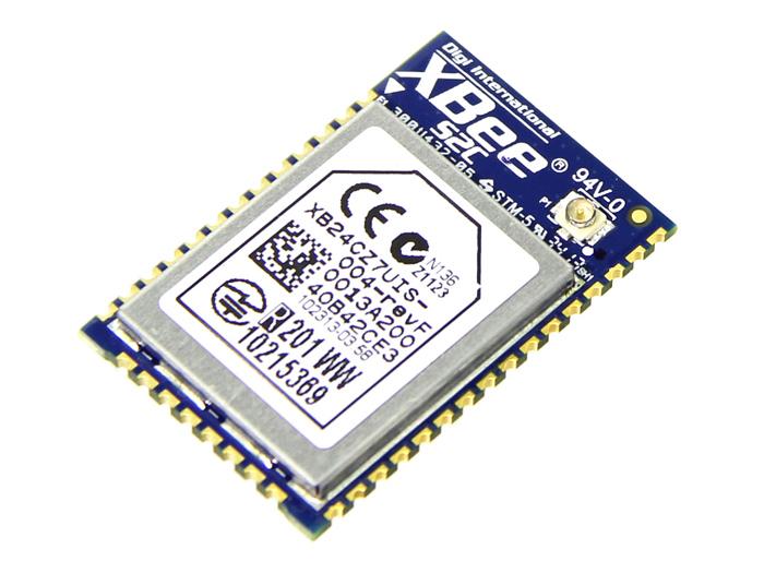 Xbee zigbee smt kbps m rf module w u fl antenna