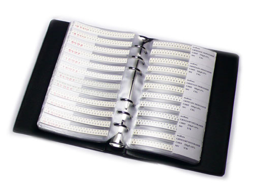 0805 SMT Capacitor sample book - 4416 pcs in 92 values(free shipping)