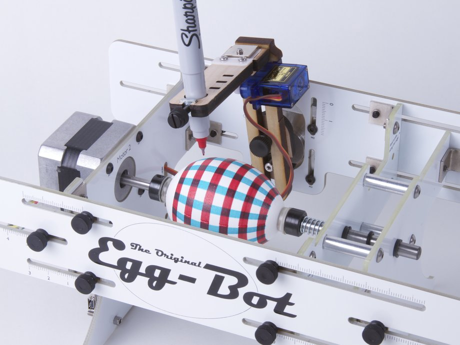 The Original Egg-Bot Kit - Deluxe Edition