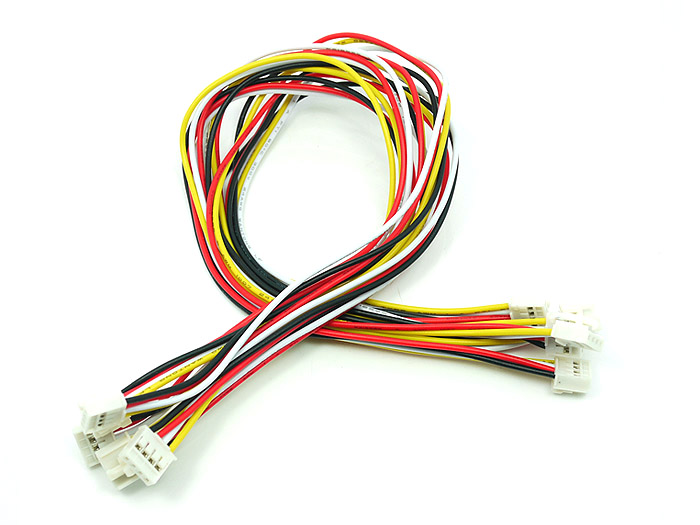 Grove - Universal 4 Pin Buckled 30cm Cable (5 PCs Pack)