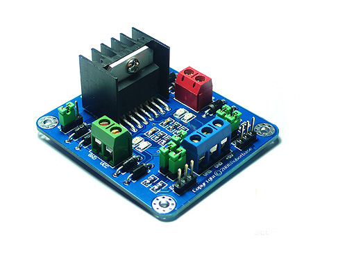 l298 dual h bridge motor driver drivers seeed studio