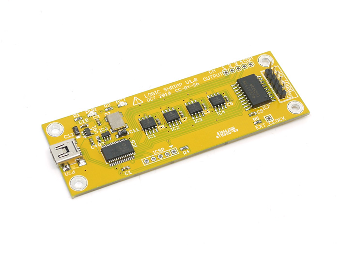 Logic Shrimp v1 logic analyzer